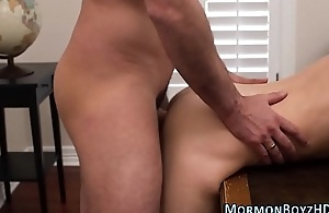 Teen mormon cum sprayed