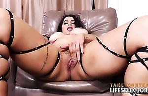 Crazy hot curvy girls suck and fuck in POV