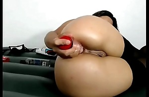 extreme camslut fucks ass til squirting big anal gape - analcams.tv