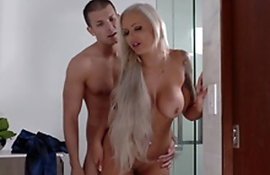 Lexi Lovell has no other option than a steamy threesome with her skit mommy
