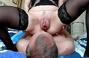 Husband cleans after sex vaginal pumped pussy