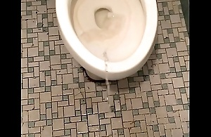 Pissing all over restroom